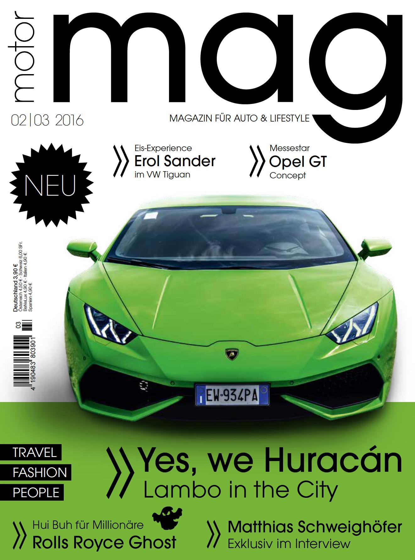 Juhuuuuuuu ! Die zweite Ausgabe von MotorMag ist im Handel.