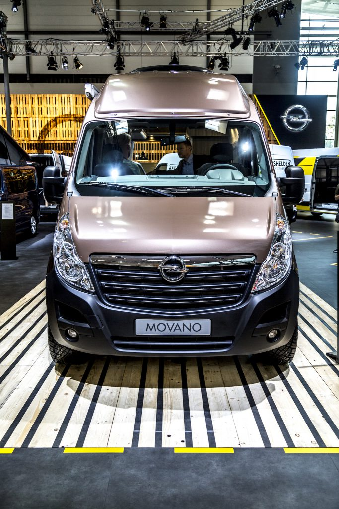Opel Movano 4x4 Camper Reisemobil