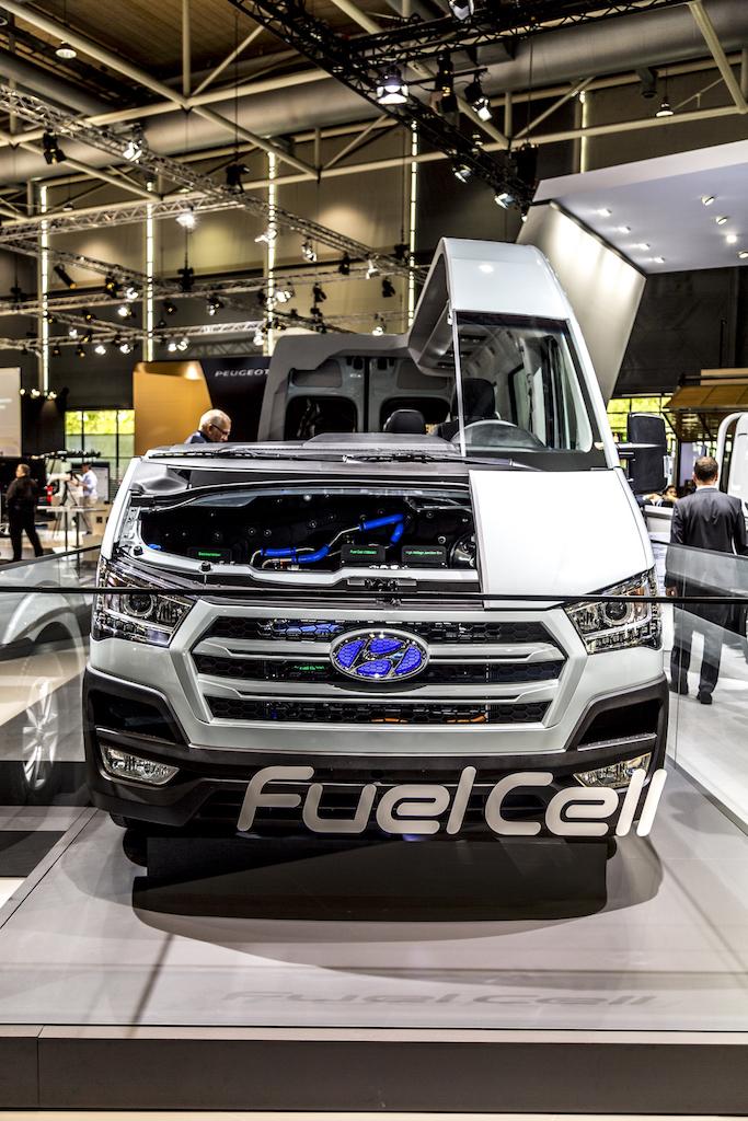 Wasserstoff kann so einfach sein - Hyundai H350 Fuel Cell