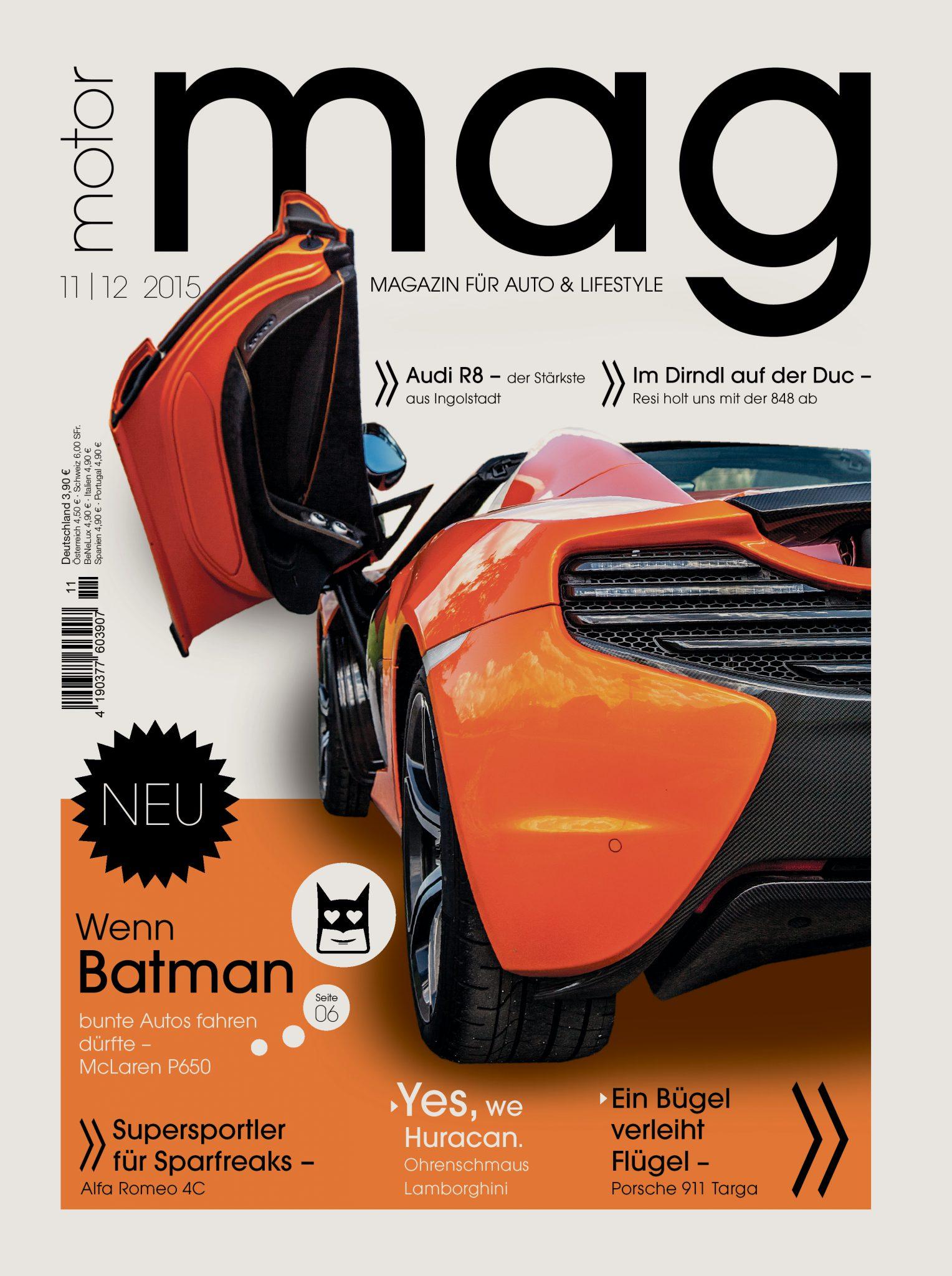 Der McLaren P650S lässt in der ersten Ausgabe von MotorMag seine Pferde los