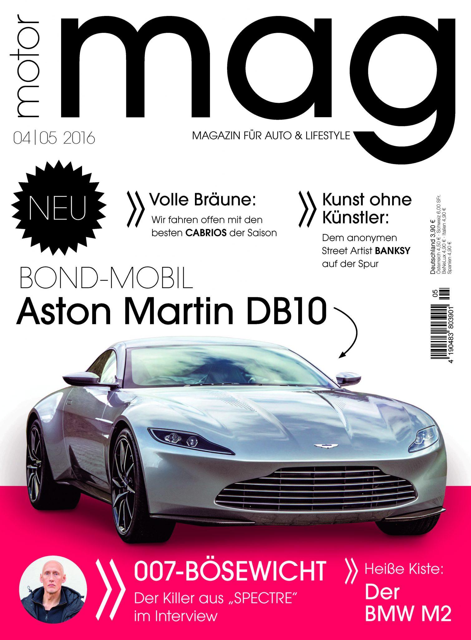Das Auto des Agenten Ihrer Majestät: Der Aston Martin DB10 von James Bond 007