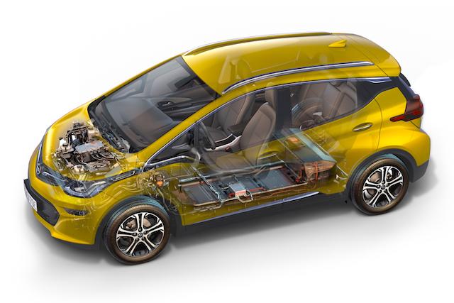 Wo steckt die Reichweite beim Opel Ampera-e?
