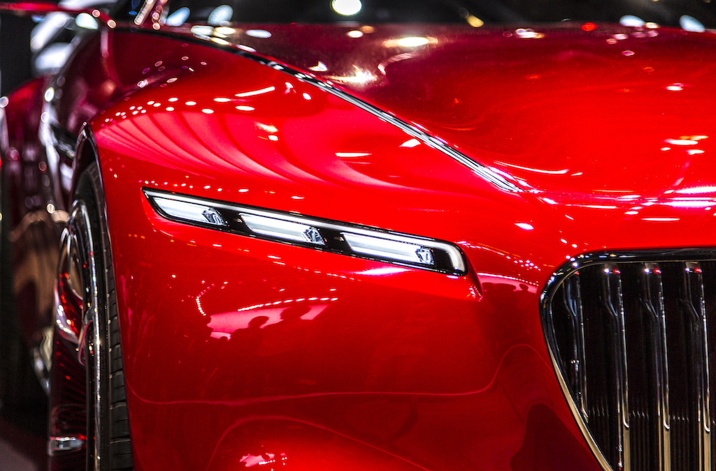 Der Hingucker auf dem Autosalon in Paris: der Vision Mercedes-Maybach 6