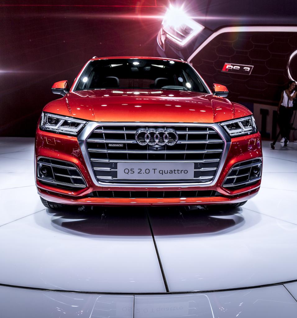 Neuer Audi Q5 auf dem Autosalon Paris
