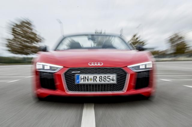 Audi R8 V10 Spyder: der Letzte seiner Art