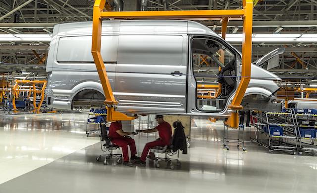 Neues VW Crafter Werk in Polen eröffnet