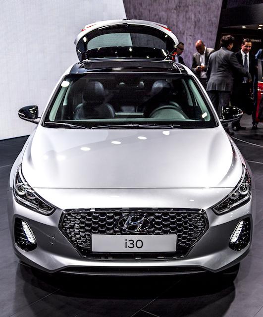 Neuer Hyundai i30 auf dem Autosalon in Paris