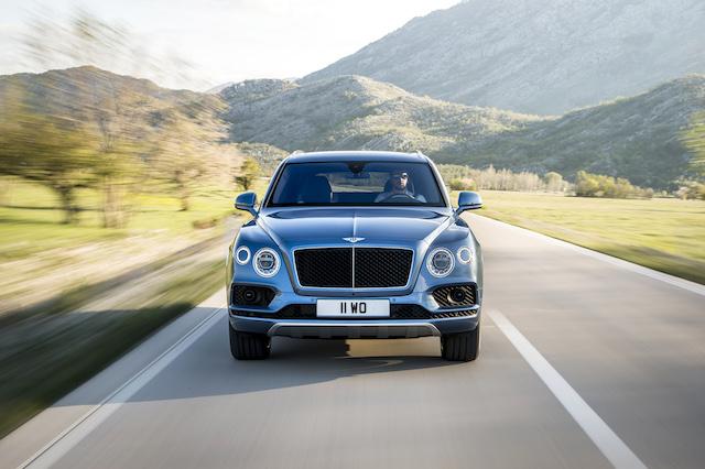 270 Spitze im Diesel SUV: der Bentley Bentayga Diesel