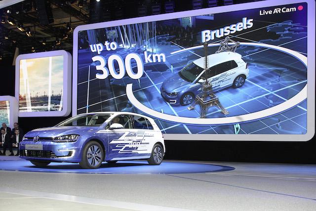 Der Volkswagen e-Golf: jetzt mit 300 Kilometer Reichweite