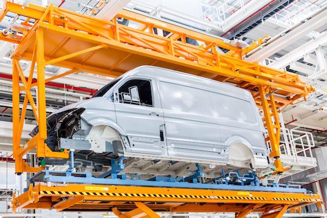 Video aus der Produktion im neuen VW-Crafter-Werk