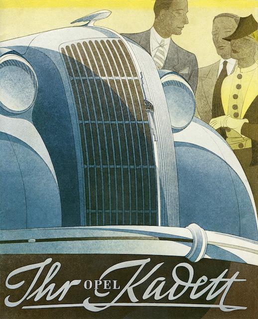 80 Jahre - der erste Opel Kadett kam 1936 auf den Markt