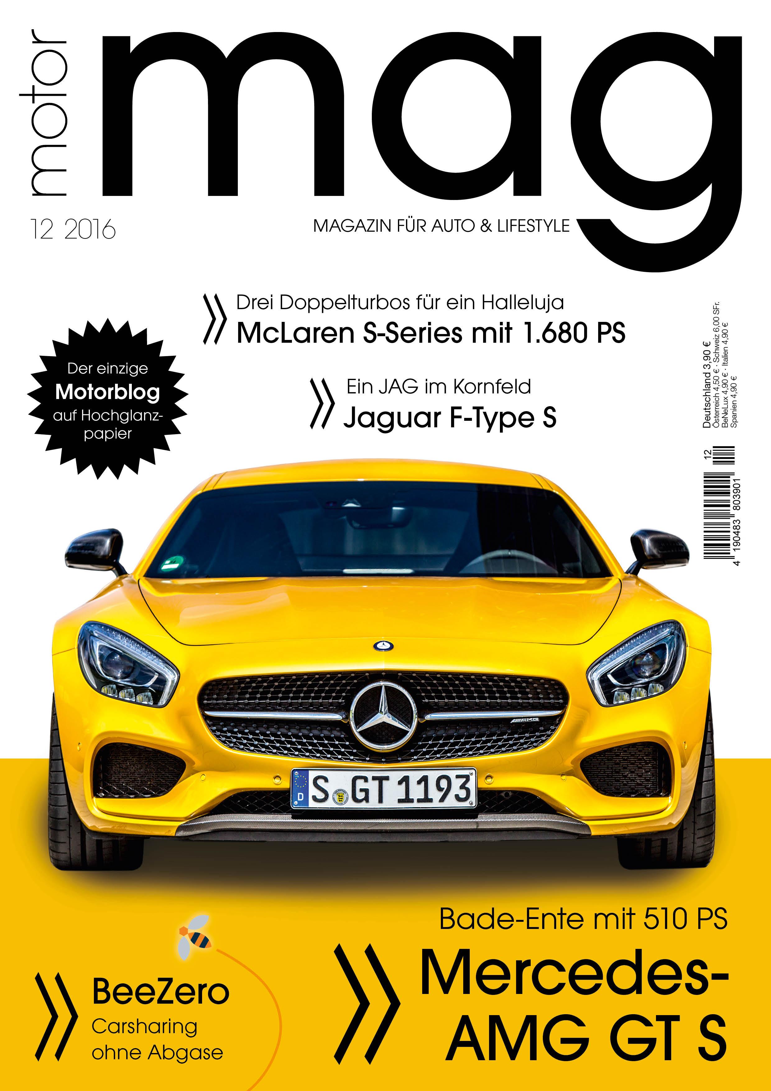 MotorMag Ausgabe 06 wird gerade gedruckt