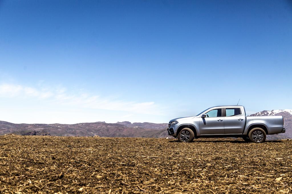 Mercedes-Benz X-Klasse MotorMag Anden 3.000 Meter Höhe seitlich