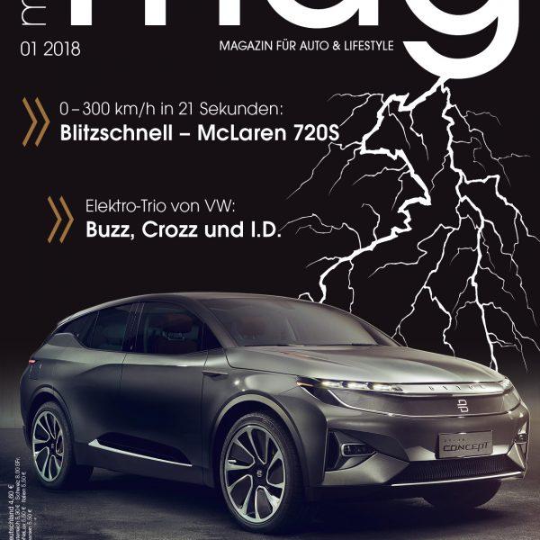 Die neue Ausgabe von MotorMag 01/2018 ist am Kiosk erhältlich