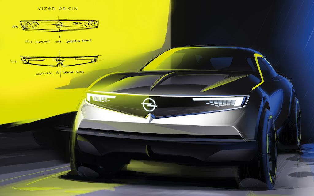Opel GT X Experimental frontal technisch