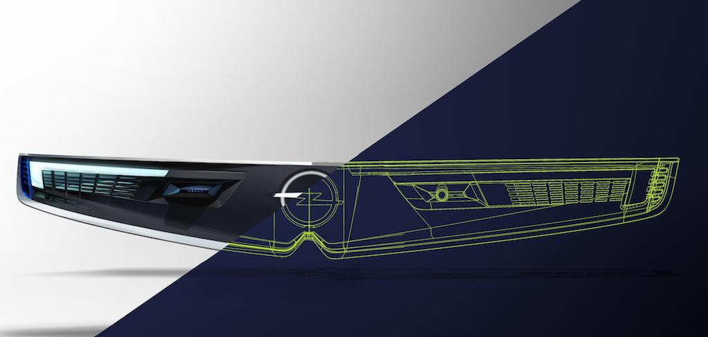 Opel GT X ExperimentalVizor technisch