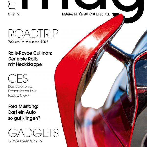MotorMag 01/2019 - Die neue Ausgabe ist am Kiosk -