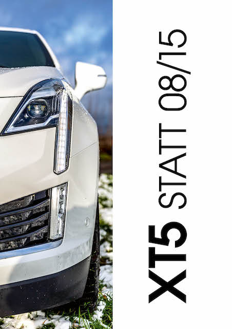 Cadillac XT5 in MotorMag
